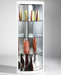 glass corner curio cabinet best designs contemporary curio cabinets contemporary