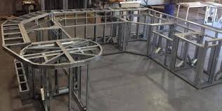 Metal Stud Outdoor Kitchen - outdoor kitchen frame kit 1b small projects using lgsf