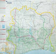 Ivory Coast Map Jeff Shea Map Viewer