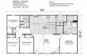 14 by 56 mobile home plans 14 free printable images house plans