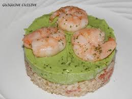 canap avocat crevette boulghour avocat crevettes guiguine cuisine