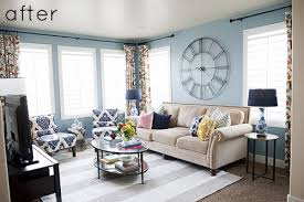 livingroom makeover chic and bright living room makeover