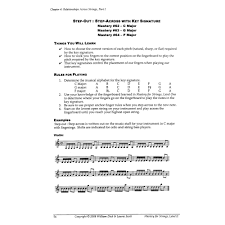 Key Signatures Worksheet Scott Mastery For Strings Level 2 Navigating The