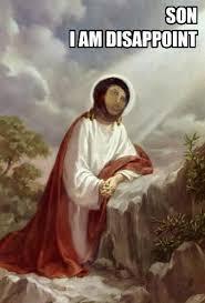 Fresco Jesus Meme - son i am disappoint potato jesus know your meme