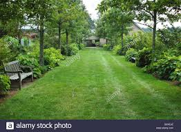 Boylston Botanical Garden U S A Massachusetts Boylston Tower Hill Botanic Garden Stock