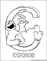 absolutely design cookie monster colouring pages 14 cookie monster