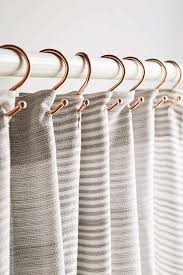 copper shower curtain hooks set outfitters