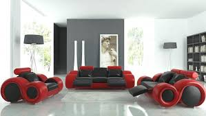 red and black room modern chic black white and red living room with linda paul art