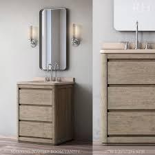 poder room martens powder room vanity 3d model cgtrader
