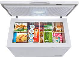 haier hfc9204acw 44 inch freezer with 9 2 cu ft capacity in