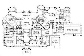 large house blueprints large house blueprints modern 19 home plan 156 1754 level