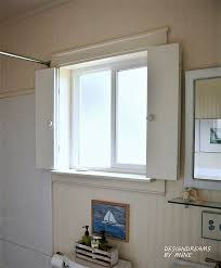 designdreams by anne diy shutters for the bathroom