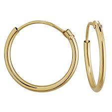 9ct gold hoop earrings hoop earrings fields ie