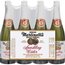 bulk sparkling cider martinelli s sparkling cider apple 25 4 oz 4 ct