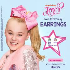 jojo s earrings s new jojo ear piercing shop the mermaid bows milled