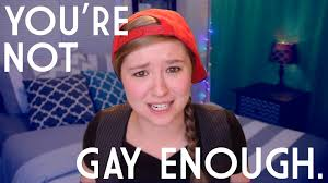 Ur Gay Meme - you re not gay enough youtube