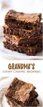 grandma u0027s chewy caramel brownies recipe chocolate cake mixes