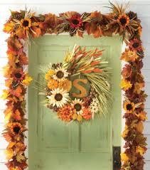 fall garland fall wheat garland and wreath joann
