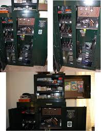 Stack On 18 Gun Cabinet by Modern Policemen Bedroom With Black Steel Stack On 18 Gun Cabinet