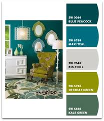create a paint palette using sherwin williams chip it paint
