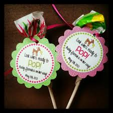 doe baby shower blow pop favors tiny tushies diaper cakes