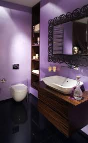 purple bathroom sets walmart round white acrylic freestanding
