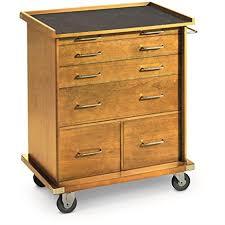 Rolling Storage Cabinet Castlecreek Rolling Storage Cabinet Light Oak Home
