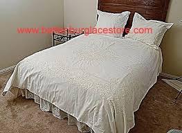 White Cotton Duvet Cover King White Lace King Size Duvet Cover Vintage Lace Duvet Cover Hand