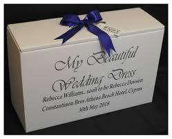 wedding dress travel box luxury personalised wedding dress travel box for weddings abroad