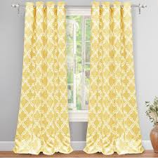 Window Curtains Sale Yellow Grommet Window Curtains Home Decoration Ideas