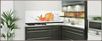 glasbilder kuche spritzschutz zuhause dekoration ideen