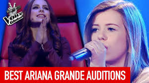 best ariana grande blind auditions in the voice with loop