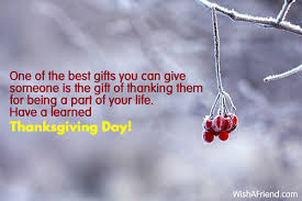 one of the best gifts you thanksgiving message