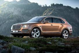 bentley sports car 2016 2017 bentley bentayga the fastest most luxurious suv yet