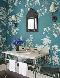 powder rooms with wallpaper powder rooms sure to impress any guest photos architectural digest
