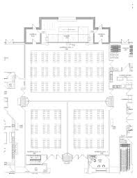 The O2 Floor Plan by Chatham Meetings Floor Plan Capacities