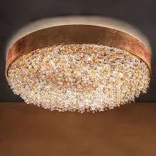ola pl6 semi flush mount ceiling light by masiero ylighting