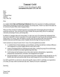 cover letter marketing manager sales manager cover letter sample