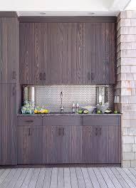 outdoor kitchen backsplash outdoor kitchen with stainless steel mini brick tile backsplash