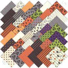 moda spooky delights halloween charm pack emerald city fabrics