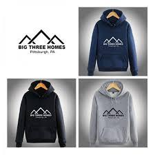 three homes this is us pullover hoodie big three homes fleece sweatshirt for
