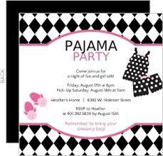party invitations pajama party invitations plumegiant
