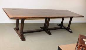 large trestle dining table large trestle dining table dining room ideas