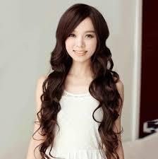 women carve bangs scroll fluffy wig big wave of japanese girls