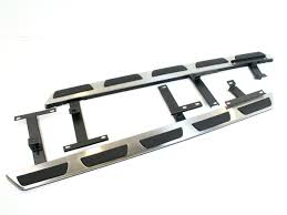 Silver Accessories Audi Q5 Stainless Steel Side Steps Bars Running Boards Silver