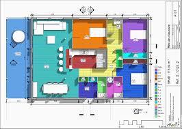 plan de maison de plain pied avec 3 chambres plan de maison plain pied 3 chambres avec garage génial plan maison