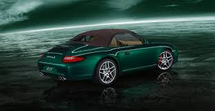 green porsche convertible images of green porsche wallpaper sc