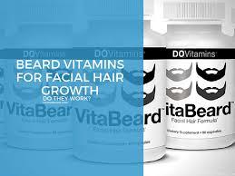 beard vitamins for hair growth do they work major beard