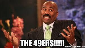 the 49ers meme steve harvey 41693 memeshappen