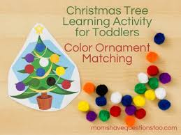 tree activity for toddlers and preschoolers